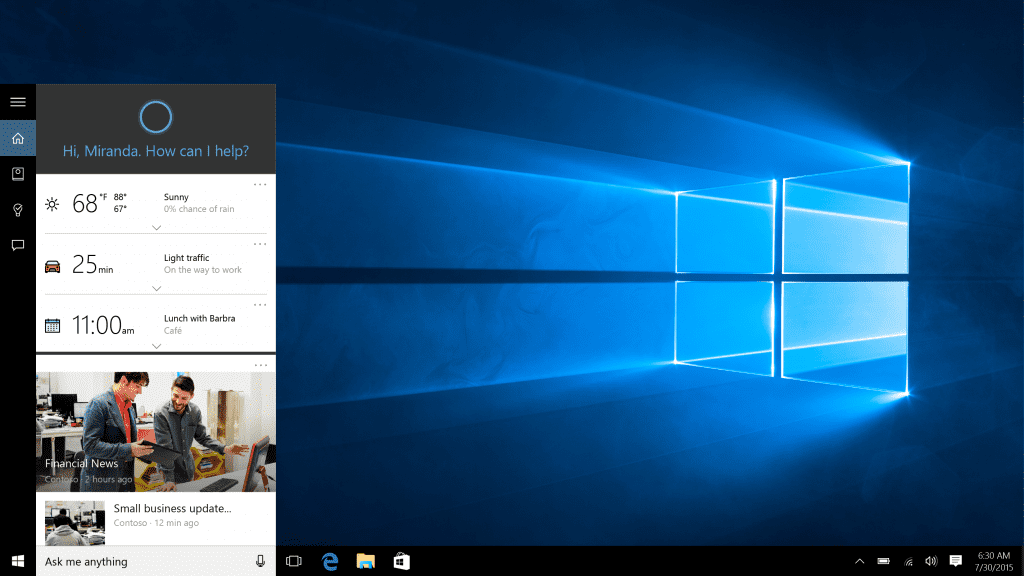 Microsoft launches its new operating system Windows 10