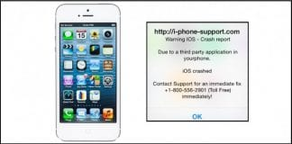 Scammers hit iPhone, iPad owners with fake crash reports and demand Ransom of $80