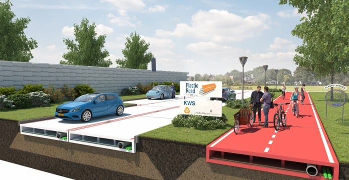 Netherlands soon to have roads made out of recycled plastic bottles