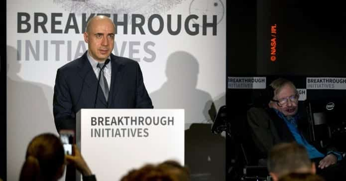 Prof Stephen Hawking and Yuri Milner Announce $100 Million Breakthrough Listen to Search for Aliens