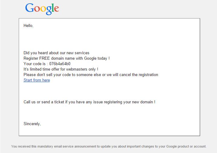 Fake google drive