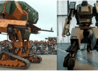 Epic Battle : U.S. challenges Japan to a Giant Robot battle
