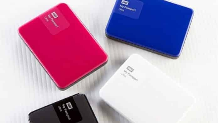 Redesigned My Passport Portable Hard Drives by WD launched in India for Rs.4750 and 7550