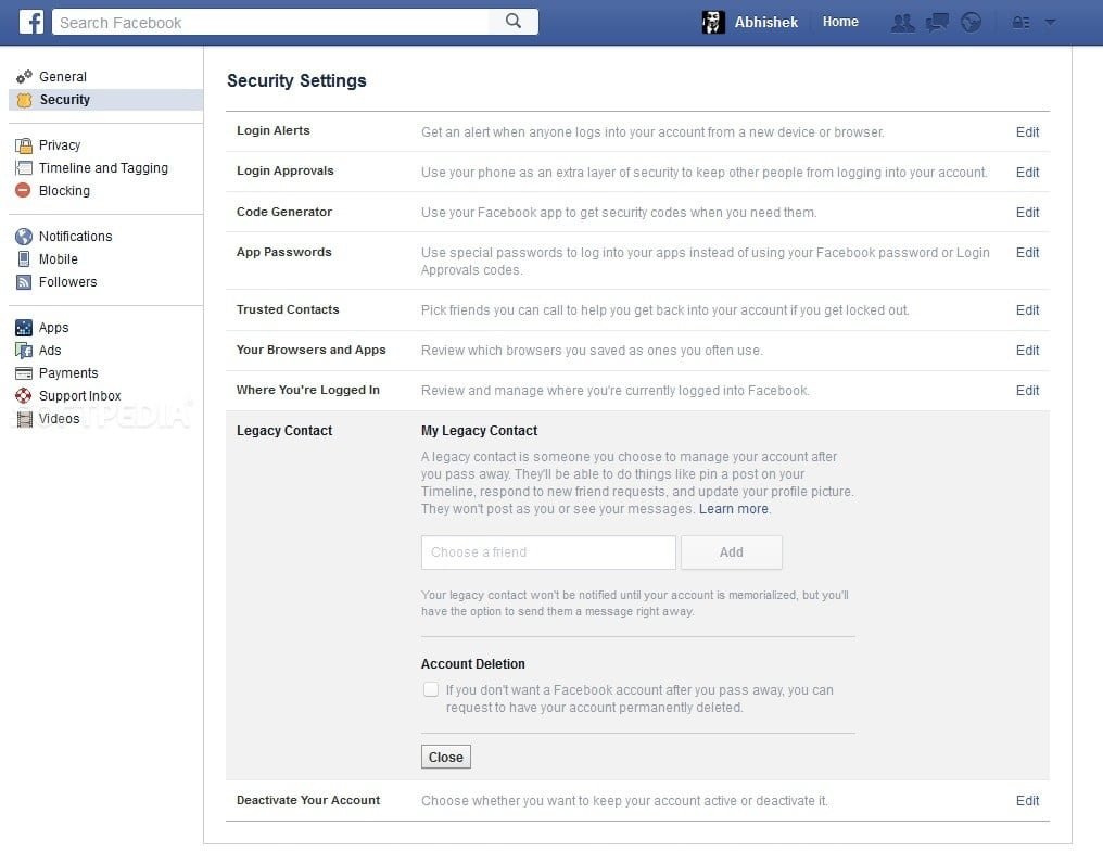 Facebook allows users to appoint digital heirs as 'legacy contact' in the UK