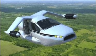 Terrafugia unveils new TF-X flying-car design