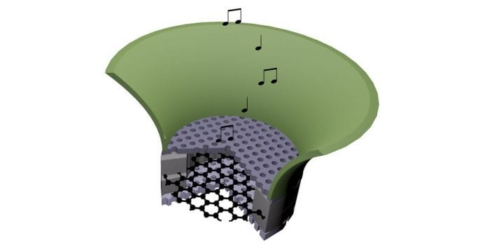 UC Berkeley scientists build graphene-based radio that allows for bat-like echolocation
