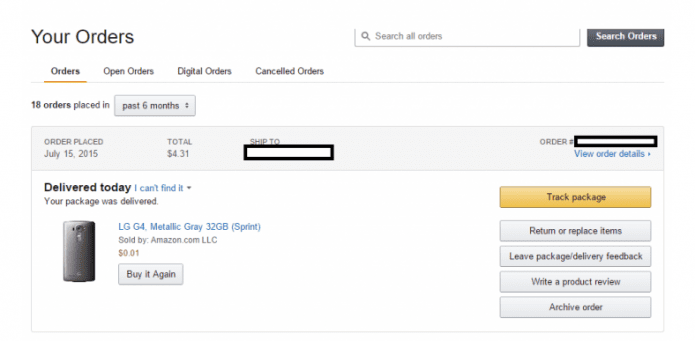 Amazon Prime Day bug lists LG G4 at 0.01 cents without contract, Redditors make a killing