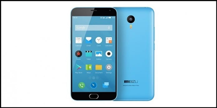 Meizu M2 To Be Launched In 8GB And 16GB Variants