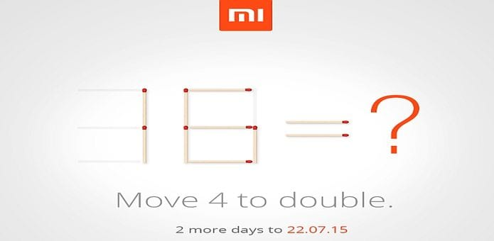 Xiaomi Mi 5 or Mi 4i 32GB version? Xiaomi teases new device ahead of 22nd July launch