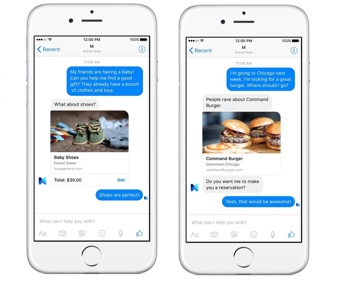 M Is Facebook's Answer To Apple's Siri And Google Now