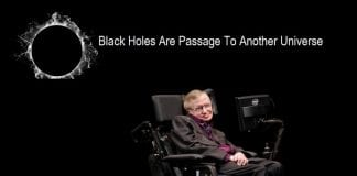 Black holes are passage to another universe, says Stephen Hawking