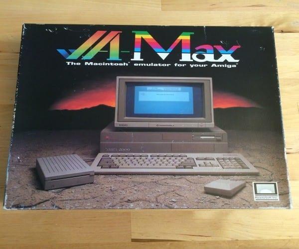 Retro hack : Running Mac OS 6 0 1 on Amiga 500 computer from
