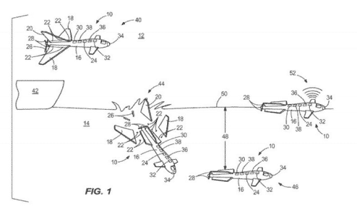 Boeing granted patent for a remote flying drone that can transform into submarine