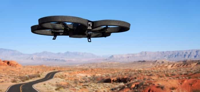Drone Hack : Blasting a sound at a drone can knock it out of the air