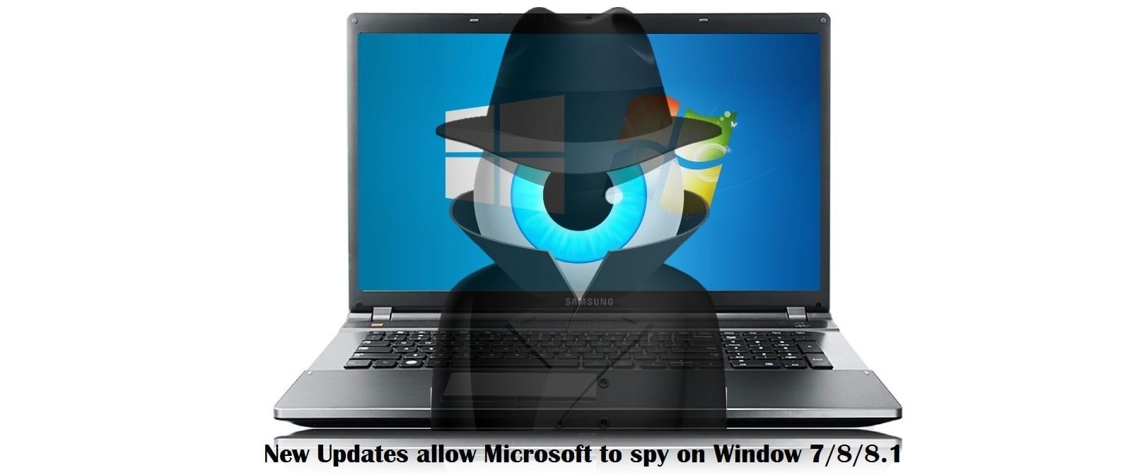 New Windows 7/8/8.1 updates spy on you just like Windows 10