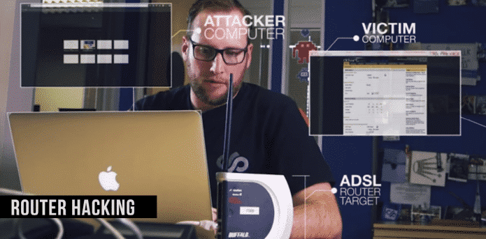 Hacking your neighbours ADSL router became easier thanks to this video