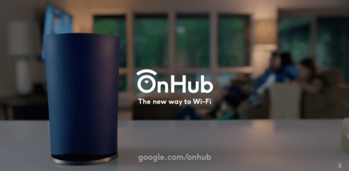 Google unveils OnHub, cylinder-shaped Wi-Fi router and Smart Home Hub