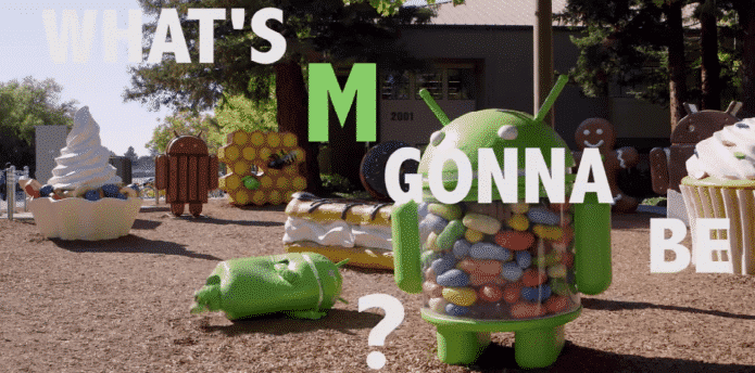 Google releases a new music video that teases possible names for Android M