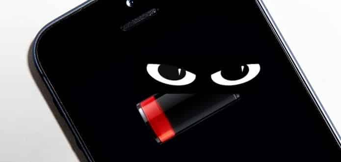 Your smartphone battery could be snooping on you
