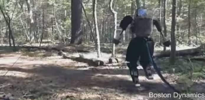 Watch Google's 'terrifying' two-legged robot walking in the wild (Video)