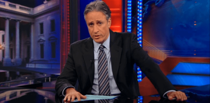 Hactivists hack Donald Trump's website and use it to pay tribute to Daily Show's Jon Stewart