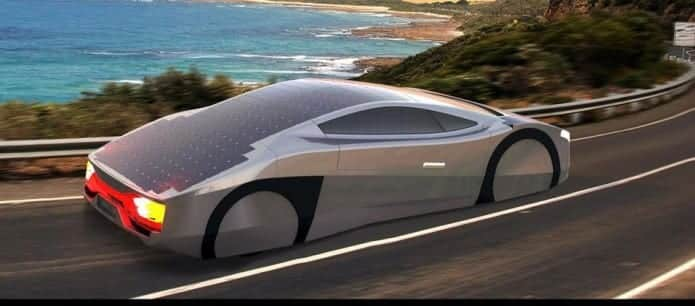 """Immortus"", world's first solar powered sportscar being built in Australia"