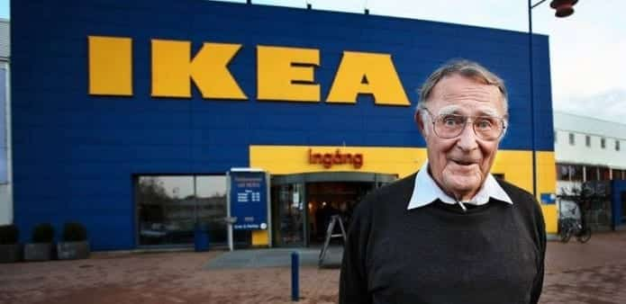 Rags to riches : How Ingvar Kamprad founded IKEA and became a billionaire