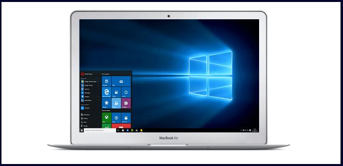 how to run windows 10 on a mac