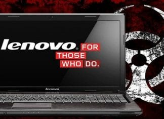Lenovo PCs and Laptops seem to have a BIOS level backdoor