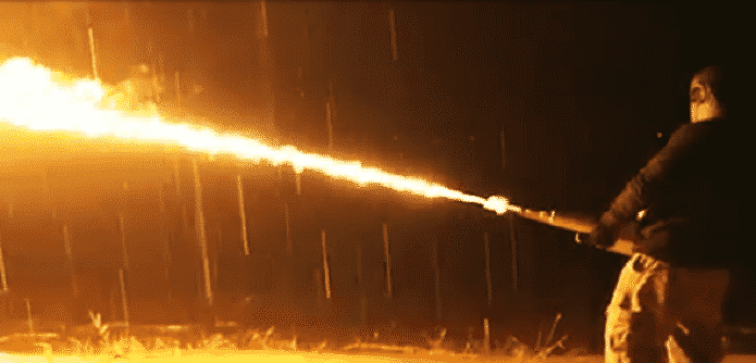 Possible ban on flamethrowers makes more Americans buy them