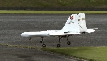 Sony unveils airplane-shaped drone that can fly up to 106 MPH (VIDEO)