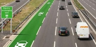 UK testing new roads that wirelessly recharges your electric car as you drive