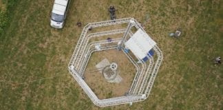 Big Delta: World's largest 3D printer can build entire house out of mud or clay