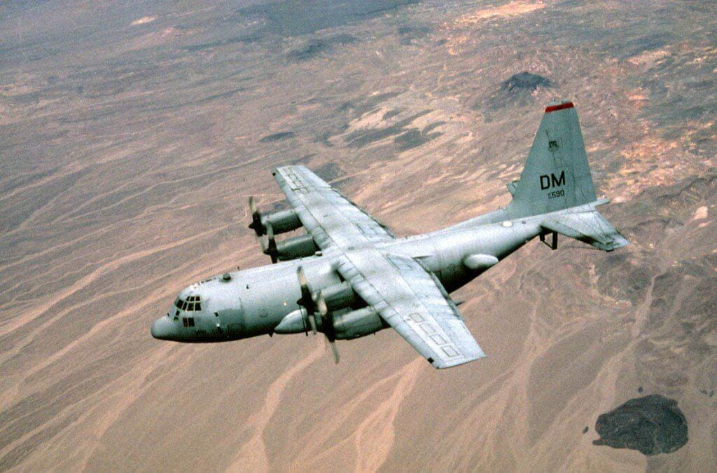 EC-130, the airplane created by US Air Force to hack enemy military networks