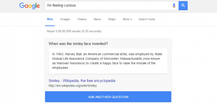 Google launches new 'fun fact' and 'I am curious' feature to keep you entertained