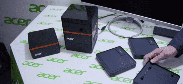 Acer's Little Modular PC Magnetically Snaps Together Like Lego Blocks