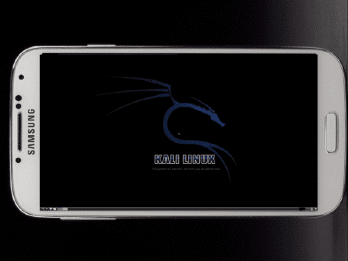 How To Install And Run Kali Linux On Any Android Smartphone 2019