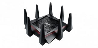 Asus's New Router is The World's Fastest Router with looks of An Alien Spider