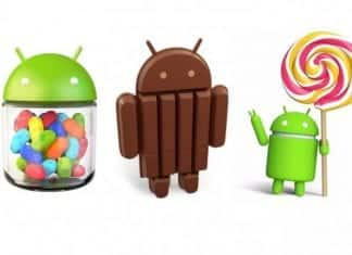 Its official, Android 5.x Lollipop is still lagging behind KitKat and Jellybean