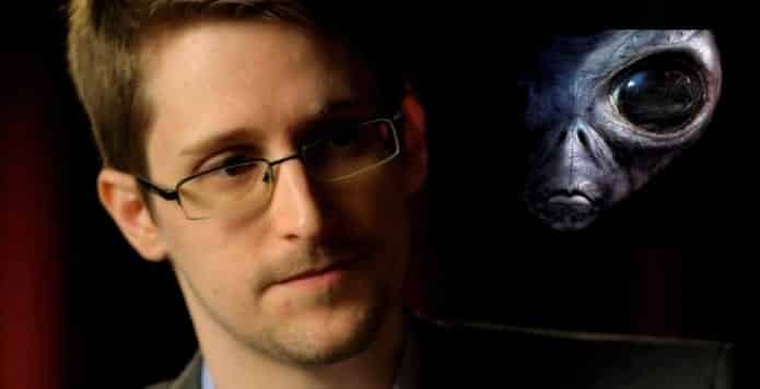 Thanks to encryption, we may never spot space aliens says Edward Snowden