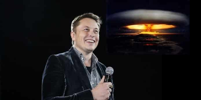 Elon Musk wants to drop nuclear bombs on Mars to make it habitable for humans