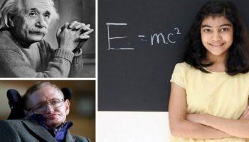 12 year old girl beats Albert Einstein and Stephen Hawking's record in MENSA IQ