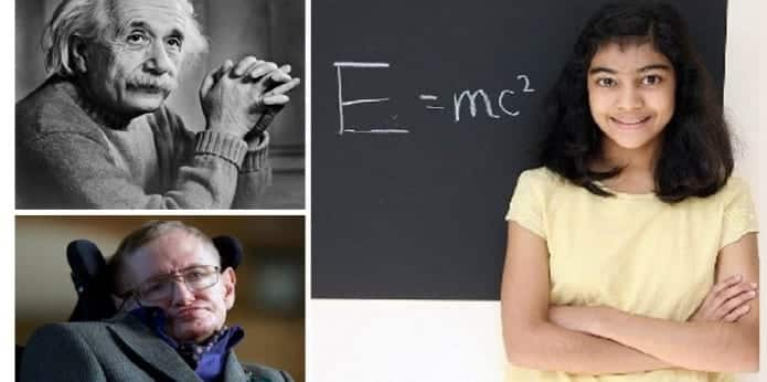 12 year old girl beats Albert Einstein and Stephen Hawking's record in MENSA IQ