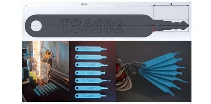 Travelers' luggage at risk due to 3D-printed TSA master keys