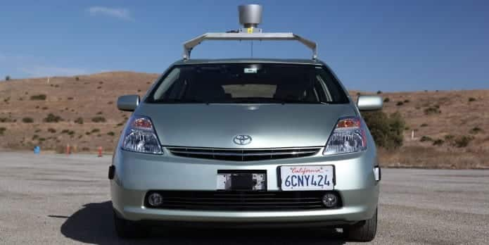 Self driving cars vulnerable to hack attack with a laser pen