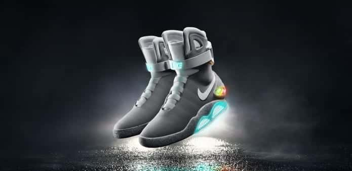 """Nike Unveils """"Back To The Future"""" Self-Lacing Shoes, Michael J Fox Is First To Try"""