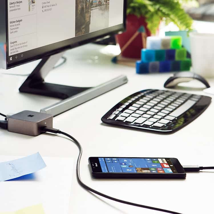Now Turn Your Windows 10 Phone Into A Desktop PC With Microsoft Display Dock
