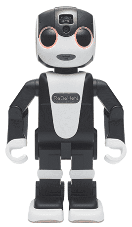An adorable bipedal robot phone called RoboHon to be launched soon by Sharp