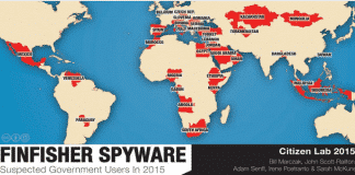 FinFisher spyware become quite becoming with government users for surveillance purposes