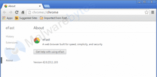 This malware takes over your Google Chrome and replaces it with a lookalike